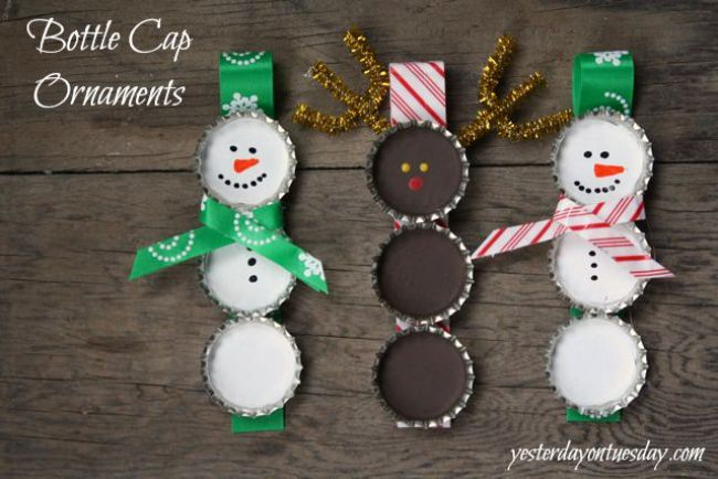 22 Snowflake And Snowman Crafts That Double As Gifts Tip