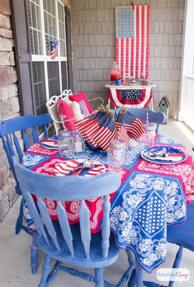 Patriotic Porch Party Ideas