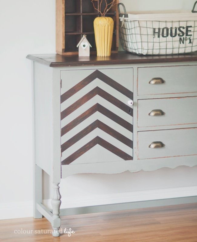 Furniture Makeover: Trophy Sideboard