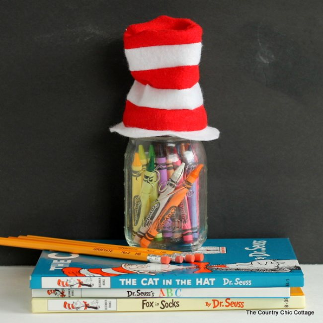 Mini Seuss Hat