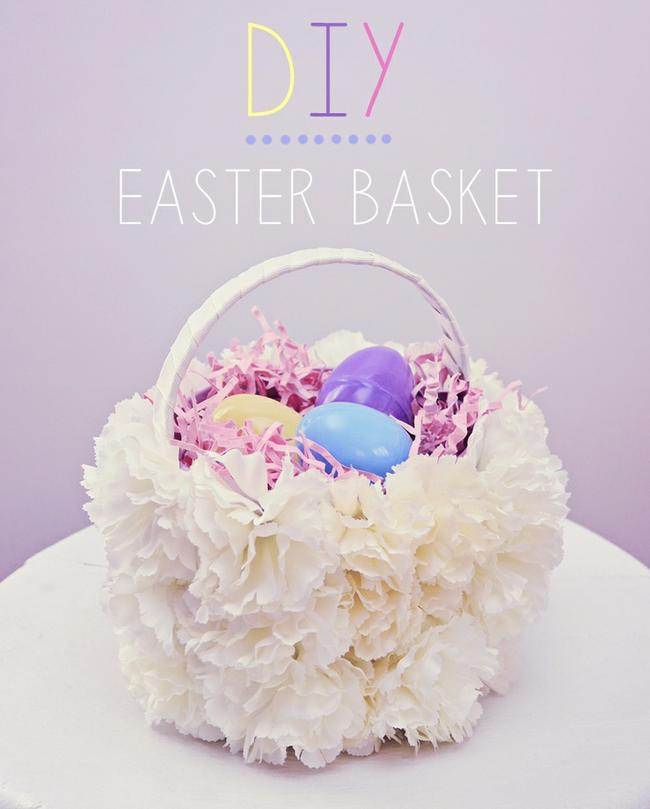 38 Easy Easter Basket Tutorials To Make Free Templates
