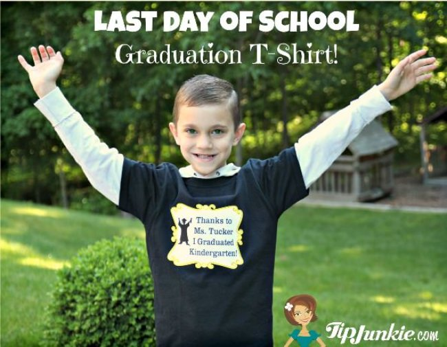 Last Day of School T-shirt Tradition