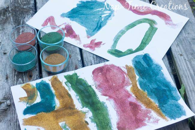 DIY Colored Sand Project