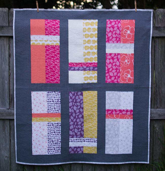 Fat Quarter Fizz Quilt {free pattern}