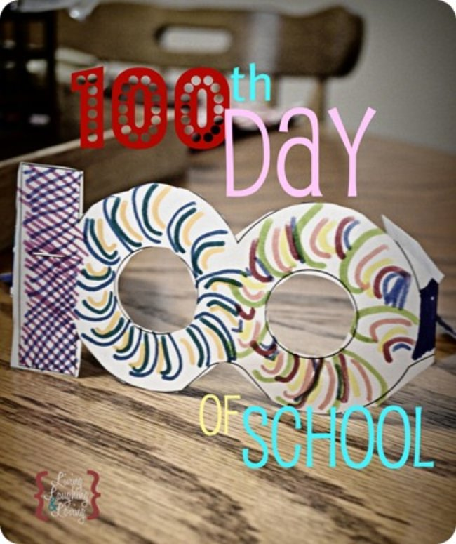 100th Day Glasses