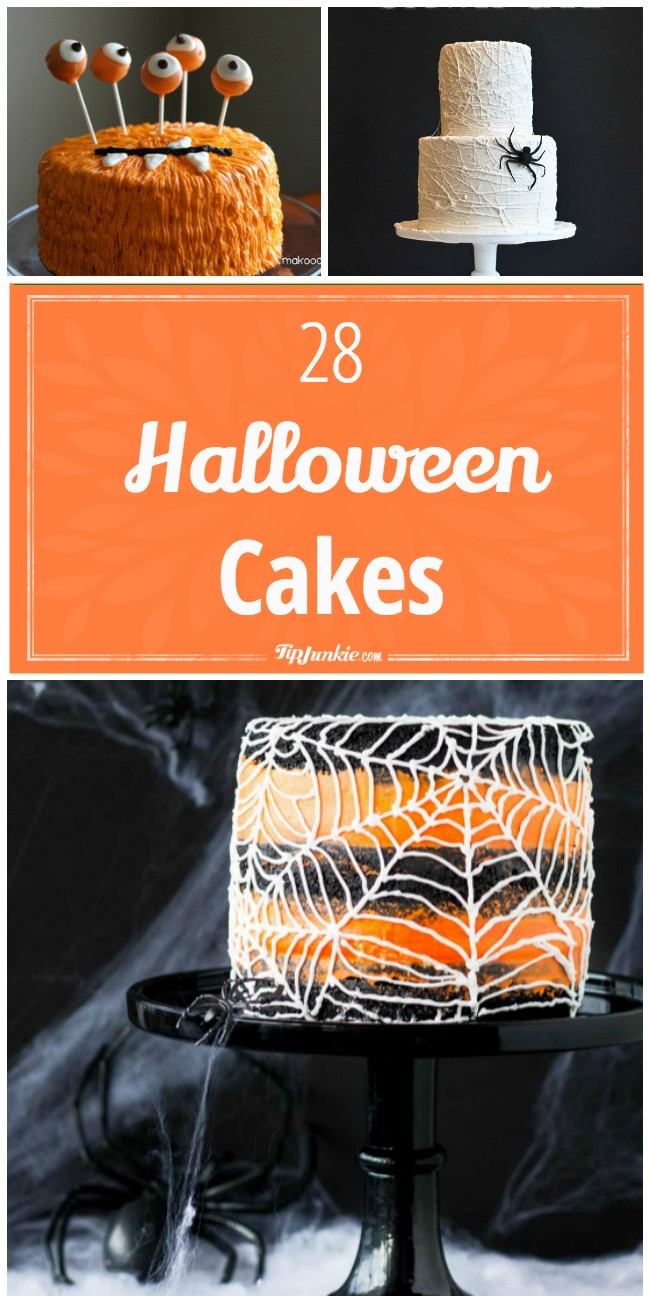 28 Halloween cakes A-png