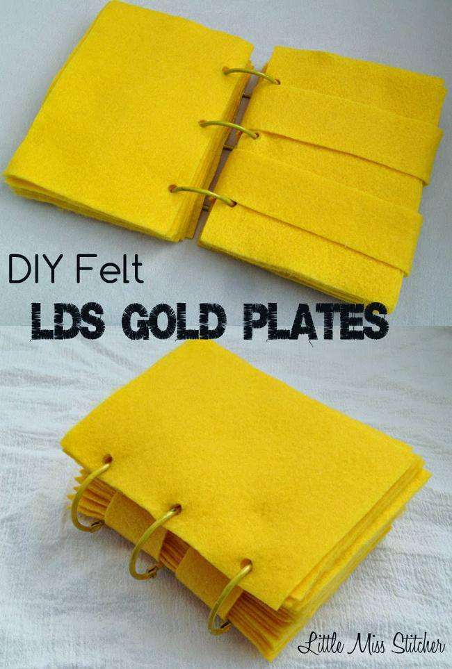 diy golden plates lds-jpg