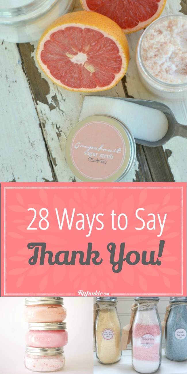 28 Ways To Say Thank You-png