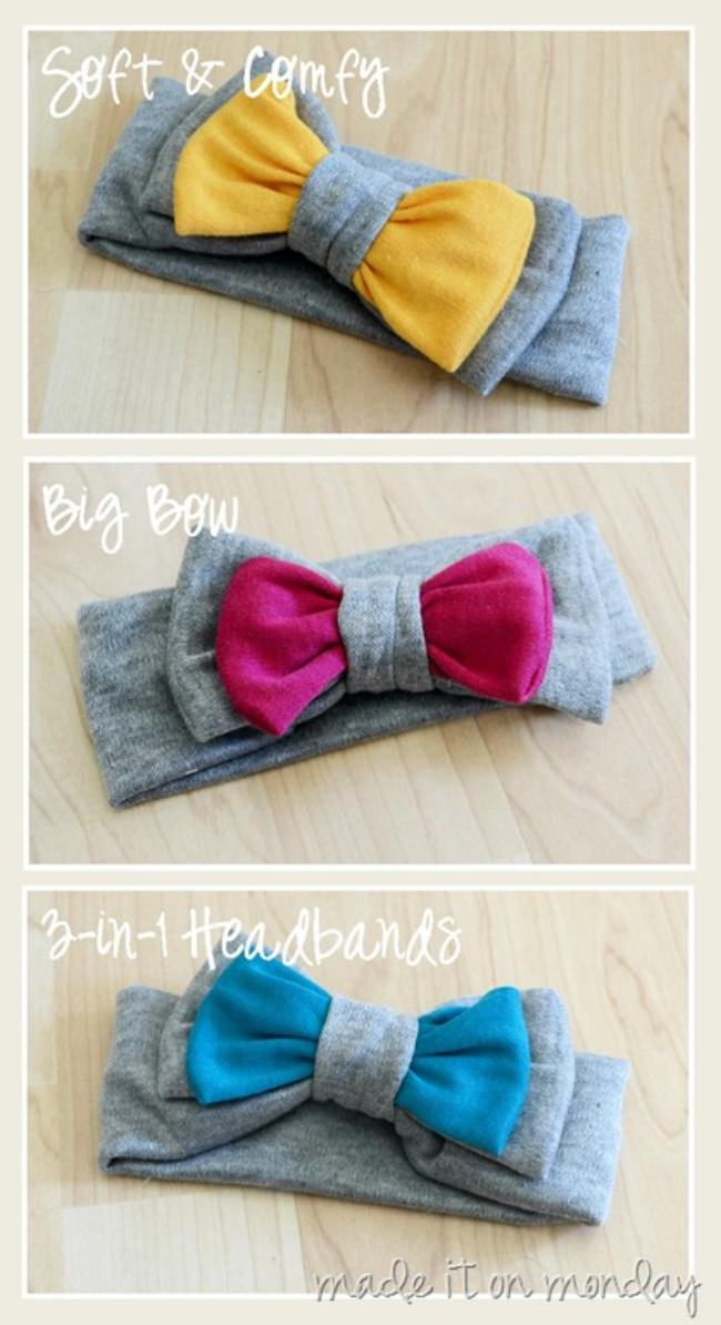 3-in1 Soft & Stretchy Headband