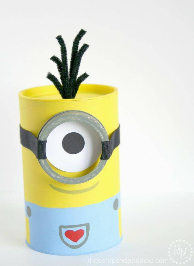 Minion Valentine's Day Box
