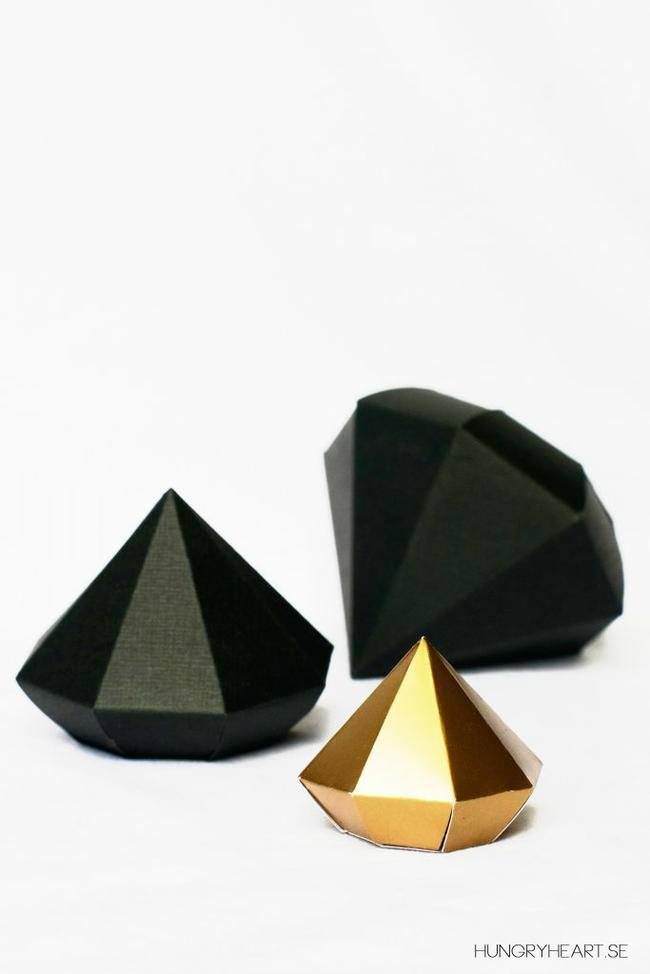DIY-Paper diamond