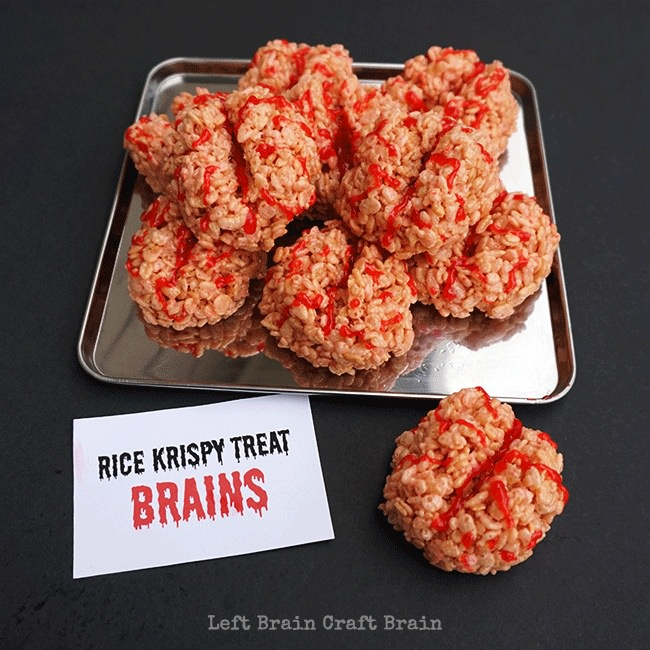 Rice-Krispy-Treat-Brains-Square-Left-Brain-Craft-Brain-png