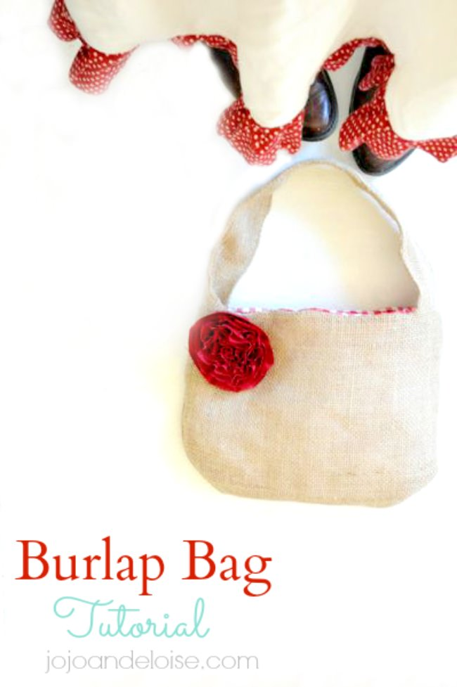 How to Make a Burlap Bag