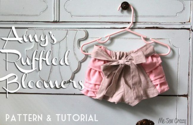 Ruffled Bloomers Pattern & Tutorial