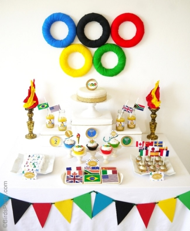 """Go for the Gold"" Olympic Inspired Party"