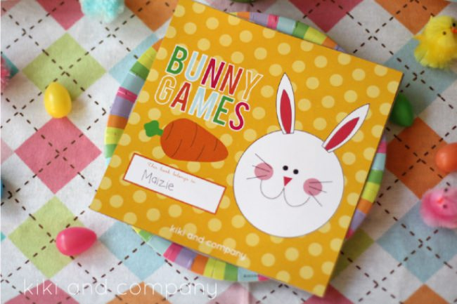 Printable Bunny Games
