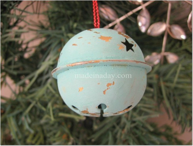 Chalk Paint Ornaments