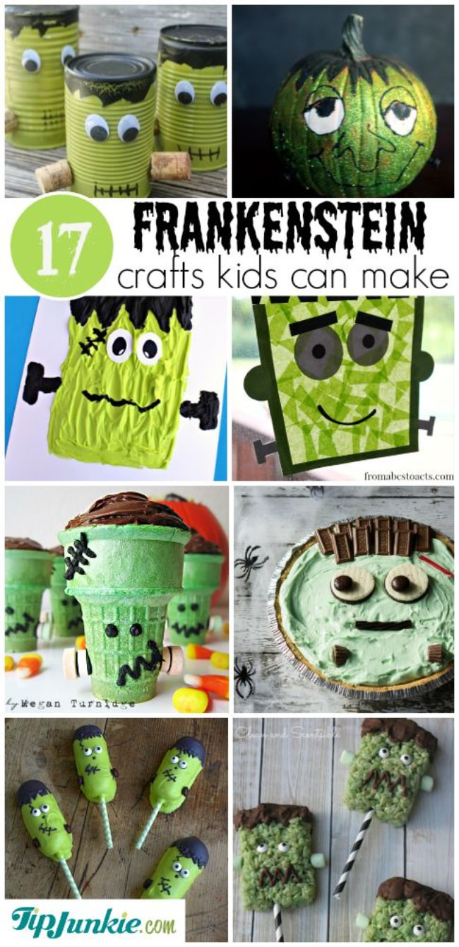 Frankenstein Crafts Kids Can Make-jpg