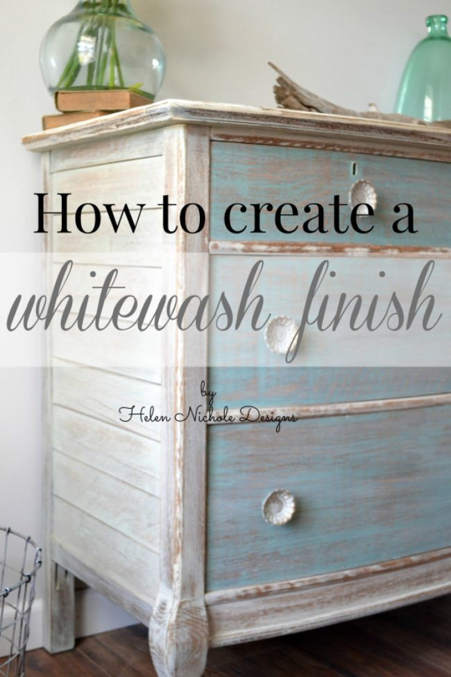 How to Create a Whitewash Finish
