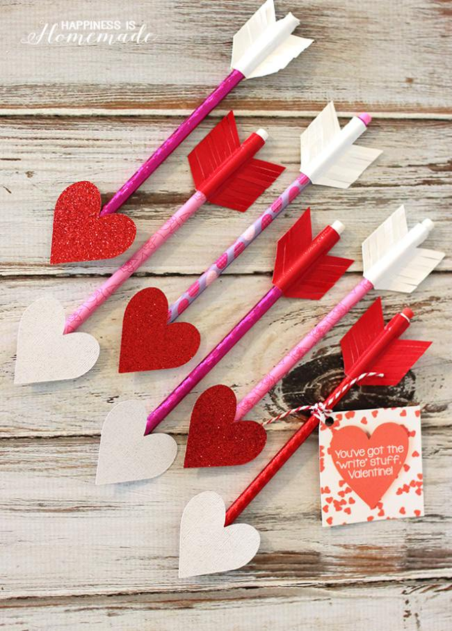 Heart Pencil Arrows
