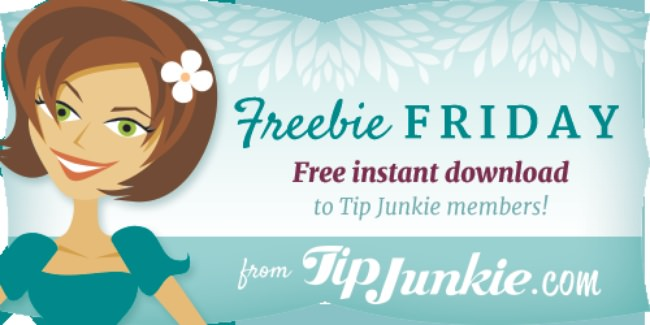 Freebie Friday Tip Junkie