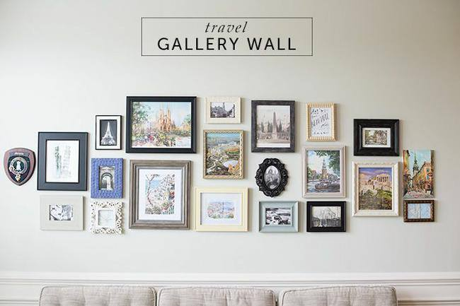 Gallery Wall 28 ideas for gorgeous diy gallery walls | tip junkie