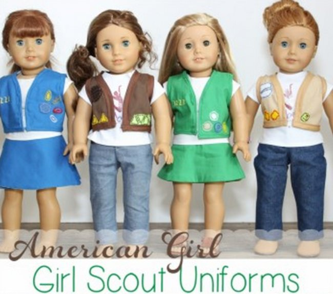 American Girl Doll Girl Scout Uniforms