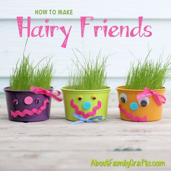 How to Make Hairy Friends