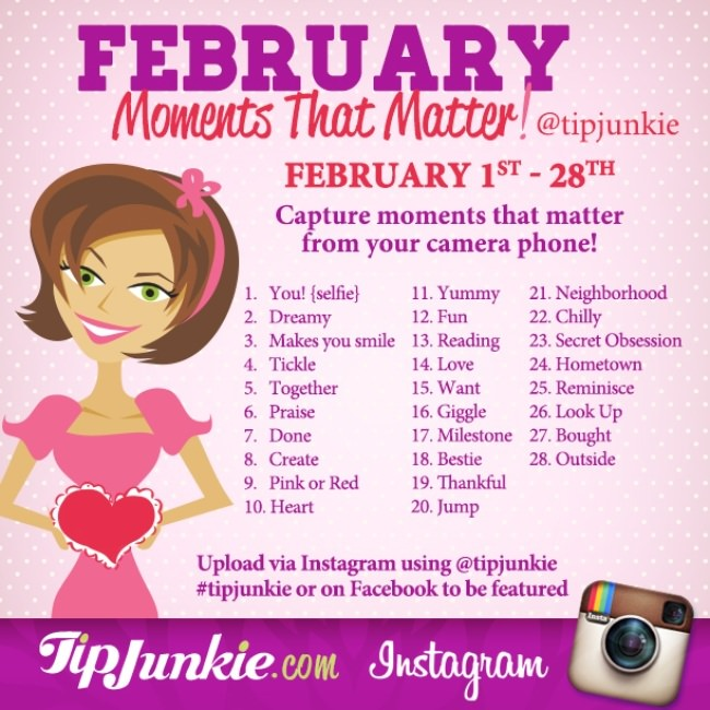 February Photo Journal Prompts