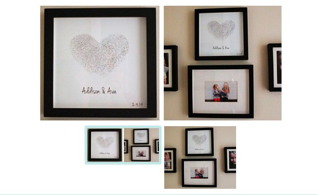DIY Wall Art - Thumbprint Heart-png