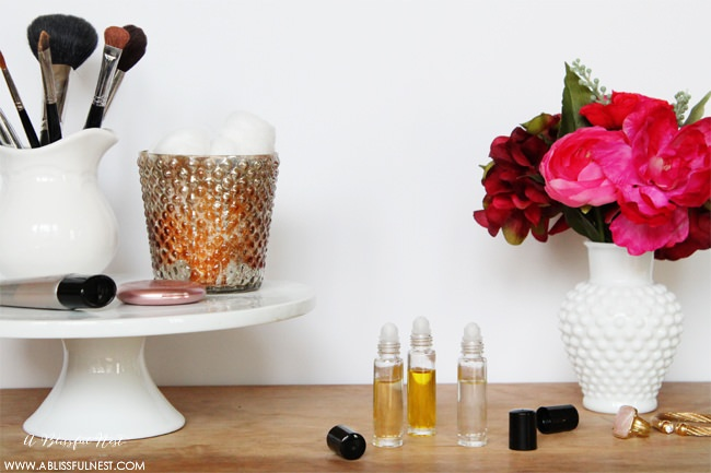 DIY Roll on Perfume with Essential Oils