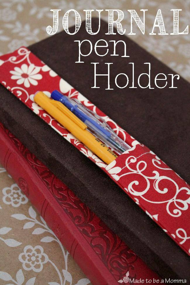 Journal Pen Holder