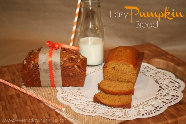 Easy Pumpkin Bread {recipe}