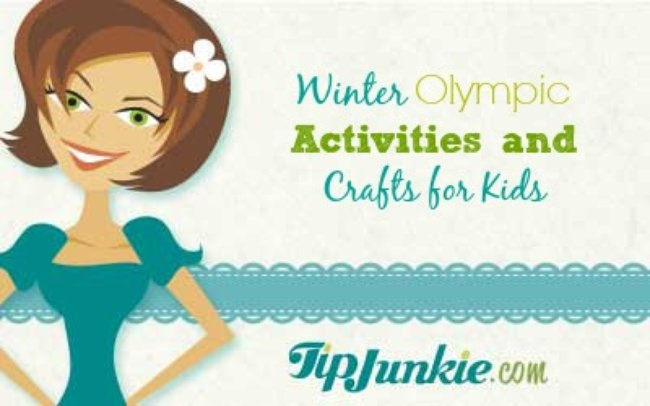 Winter Olympic Activities and Crafts for Kids