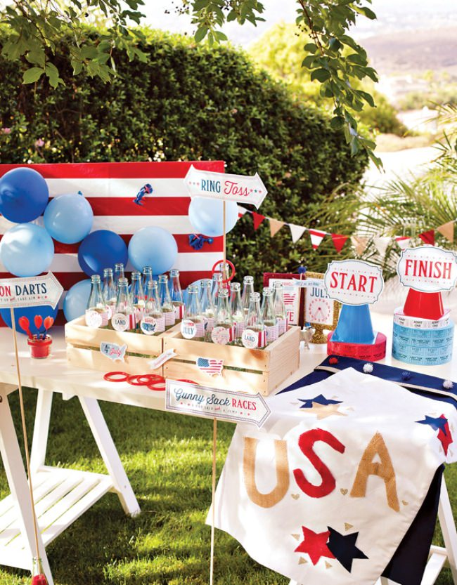 Patriotic County Fair Party Printables