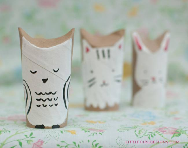 Woodland Creatures TP Craft