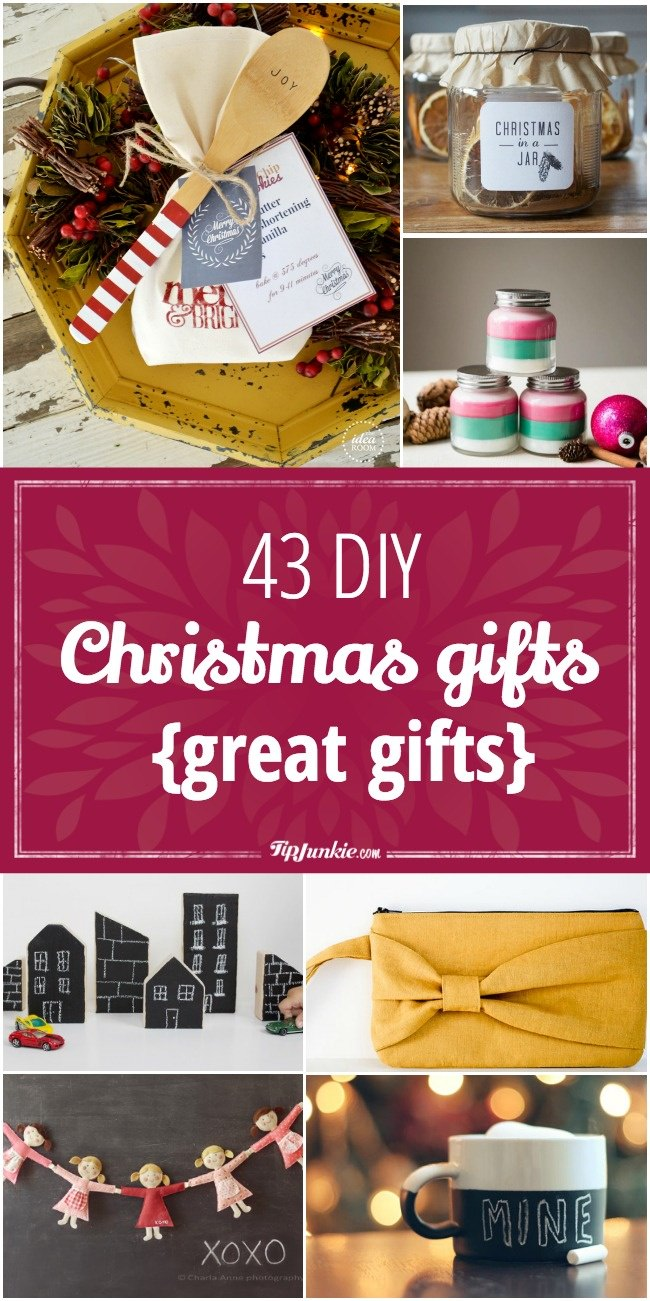 Homemade Christmas Gifts For Kids.43 Diy Christmas Gifts Tip Junkie