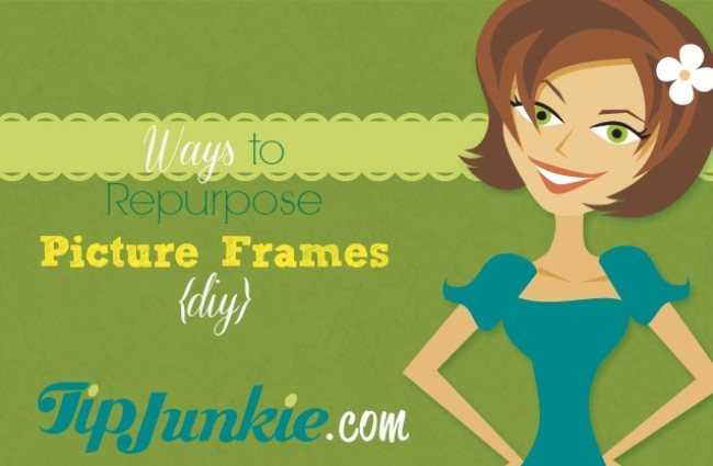 Ways to Repurpose Picture Frames {diy}