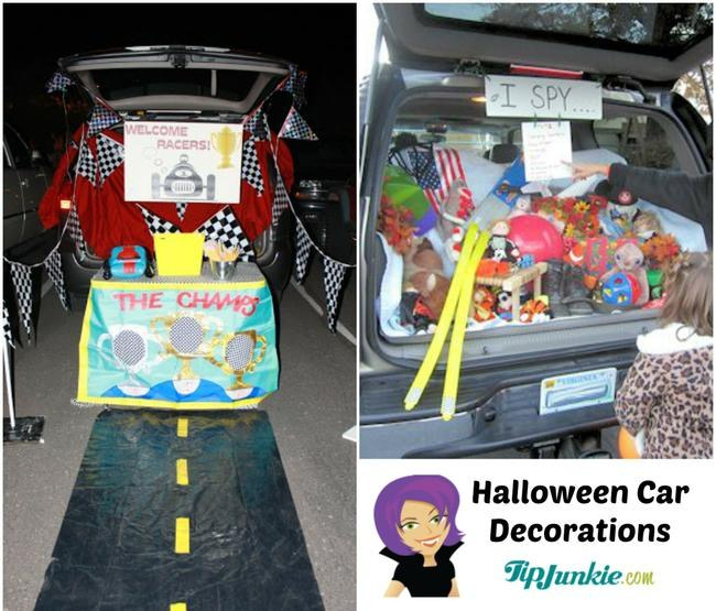Halloween Car Decorations