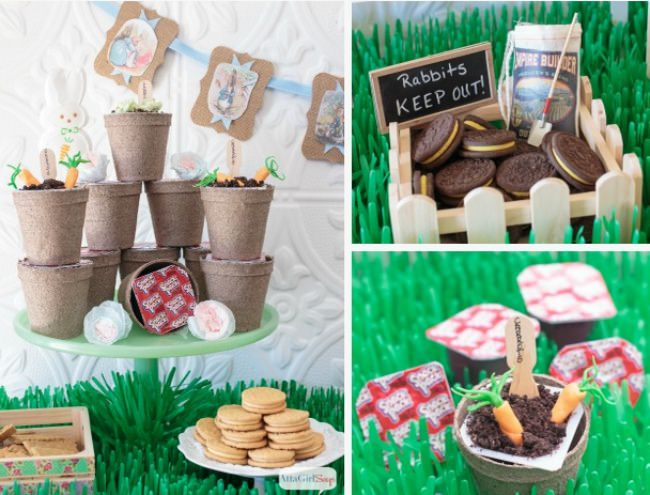 Peter Rabbit Inspired Easter Party