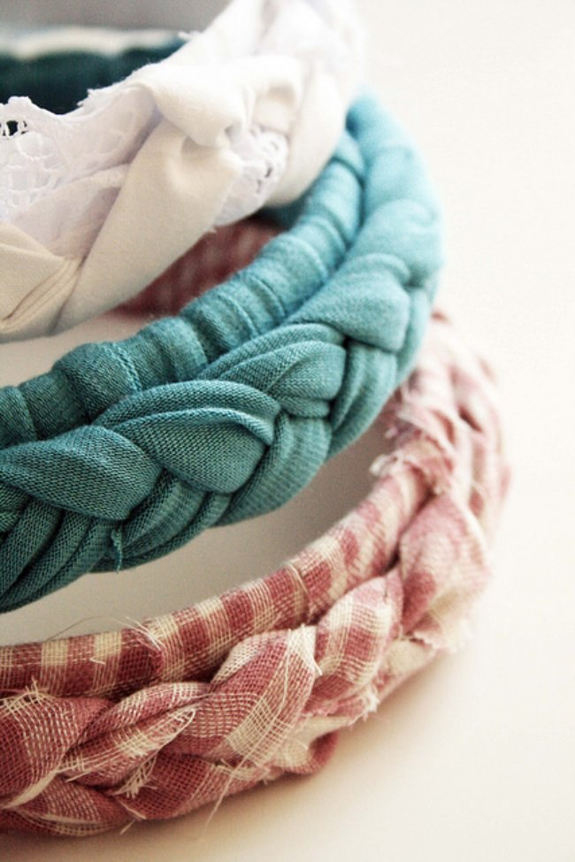 Braided Headband {No-Sew Tutorial}