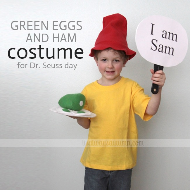 Dr. Seuss Day Costume {Hat Template}