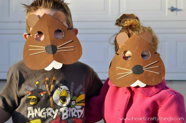 Groundhog Day Mask