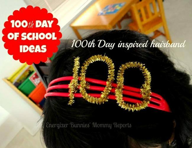 100th Day of School Hairband