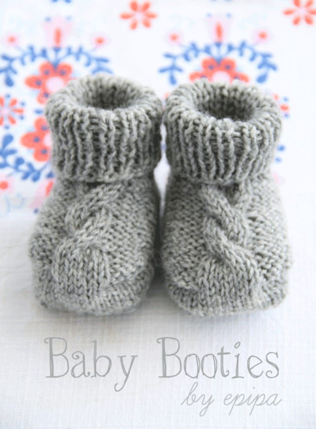 Baby Shoes Knitting Pattern Free