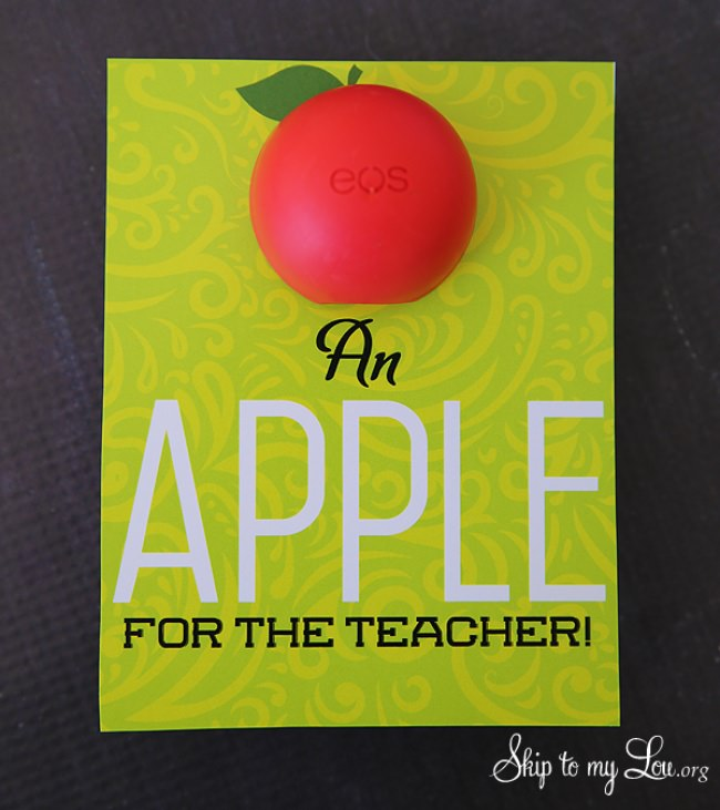 EOS Apple for the Teacher Gift