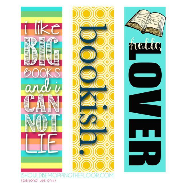 23 Printable Bookmarks Perfect For The Book Lover Tip Junkie