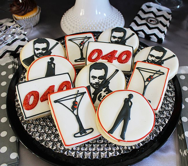 James Bond Themed Party