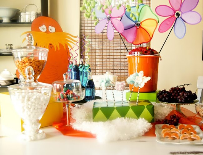 The Lorax Party {Birthday Themes}