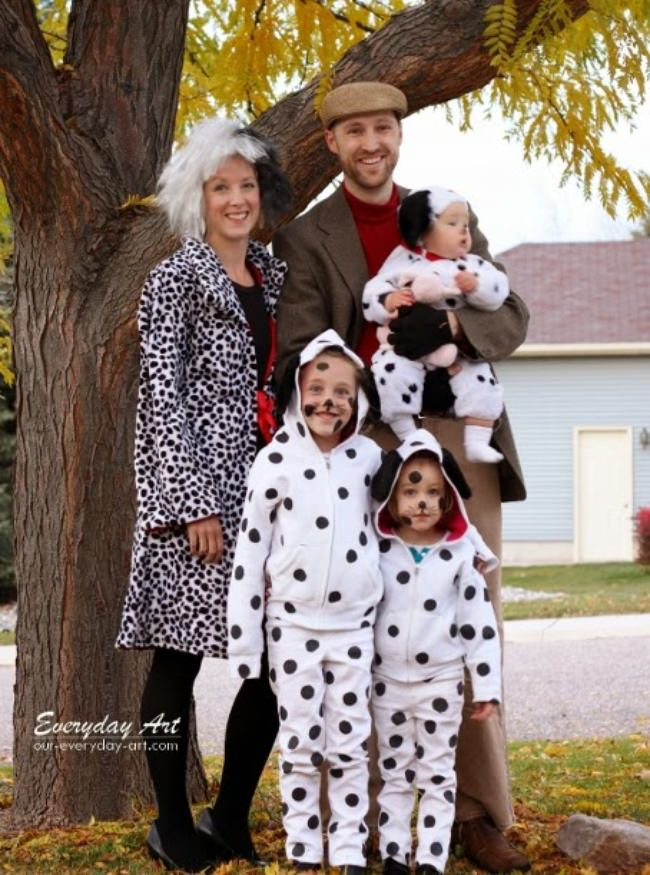 101 Dalmations 10 Fantastic Family Halloween Costumes